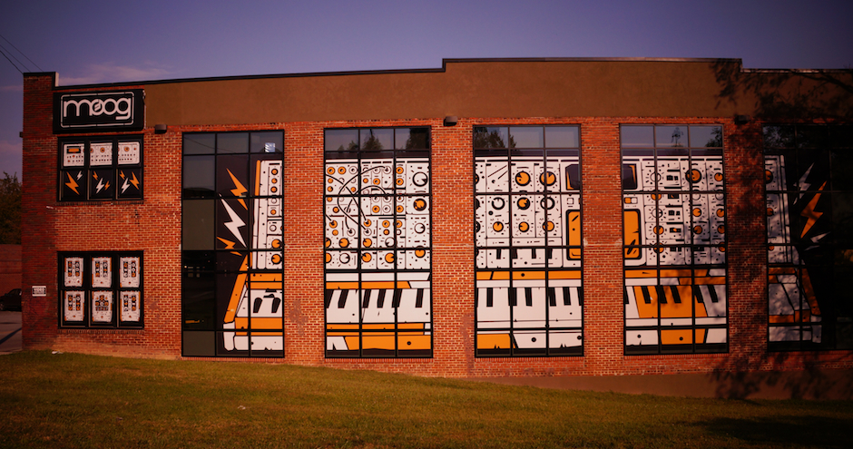 RPE Duo in Asheville, Moog Factory Video