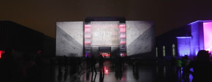 O3 – video mapping – Moscow Circle of Light 2014